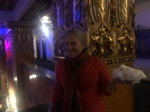 Gina at the Gadsden