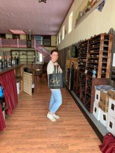 Ana at the Tasting Room